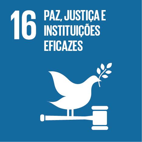 16 Paz, Justiça e Instituições Eficazes